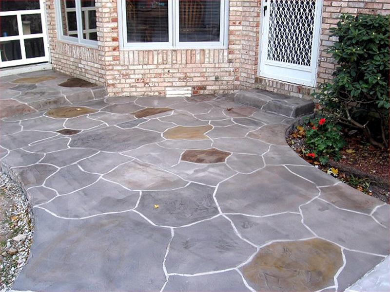 decorative concrete exterior 04 - Decorative Concrete